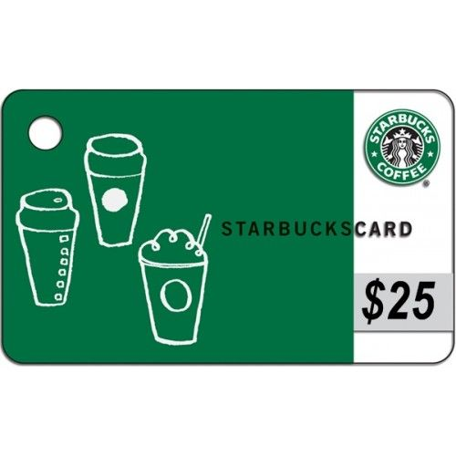 Free Giveaway: $25 Starbucks Gift Card Enter Here: http://www ...