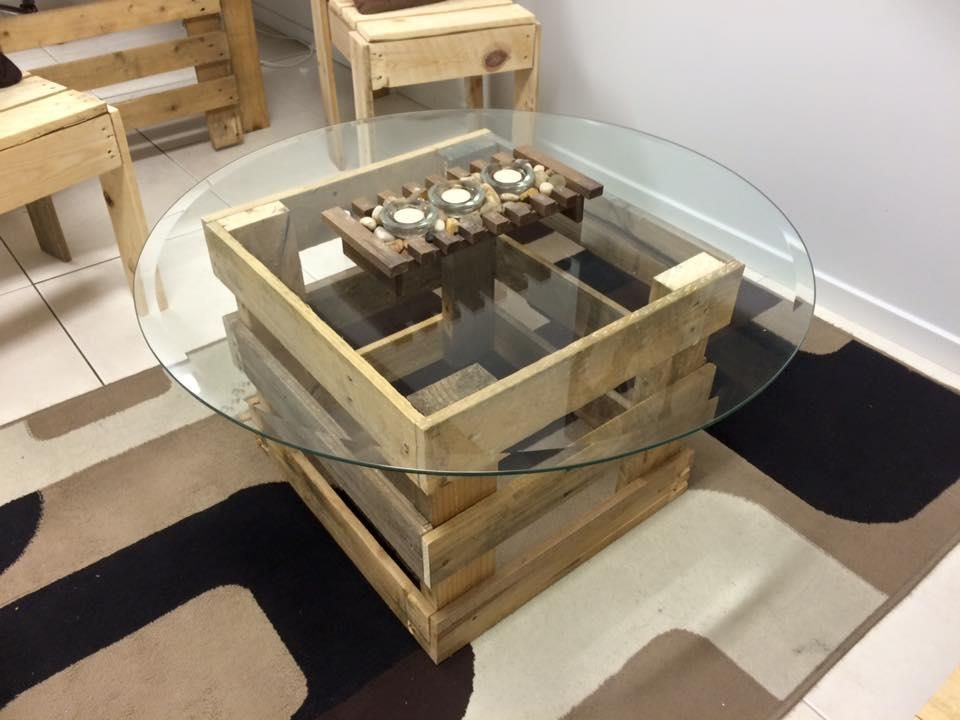 Coffee #Table - Pallet Office Furniture - DIY | Pallet Furniture
