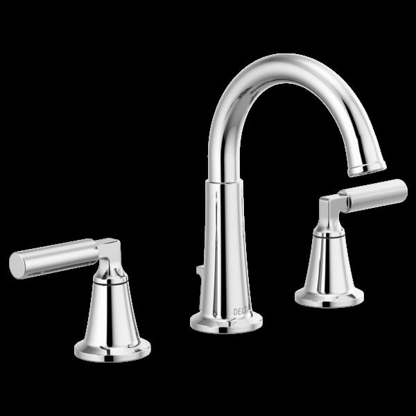 Oil Bronze Delta Faucet P3523LF-OB Westchester Widespread Bathroom Faucet Two Handle