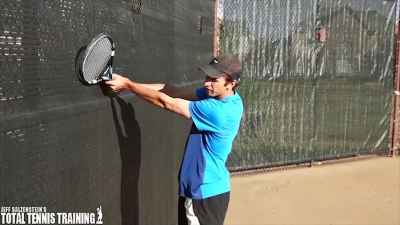 If you want to work on perfecting your backhand, this