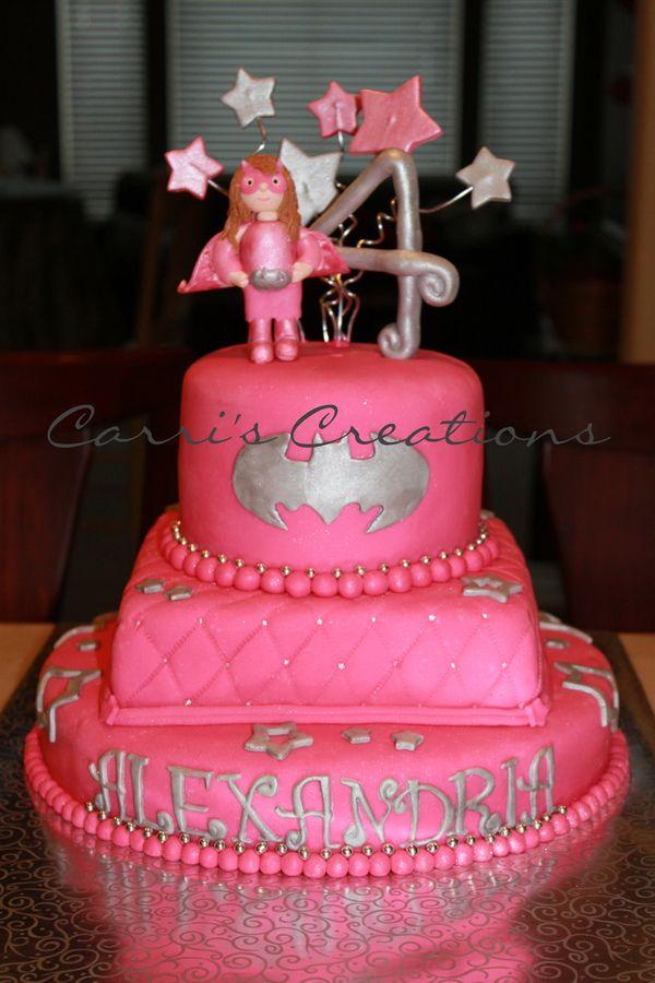 Batgirl Birthday Cakes Nananananananana Batgirl Childrens