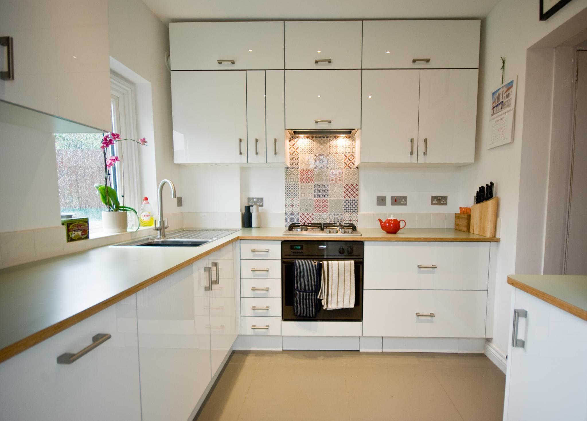 An Innova Altino White Kitchen kitchens