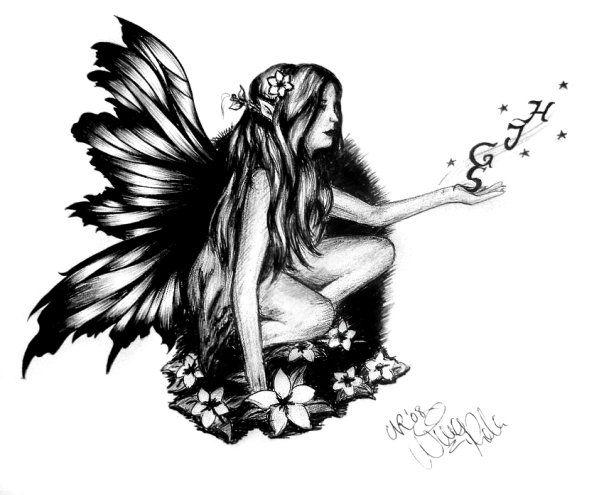 Fairy Tattoo Designs Fairy Tattoo Design By Ninaschee On Deviantart Fairy Tattoo Fairy Tattoo Designs Faerie Tattoo
