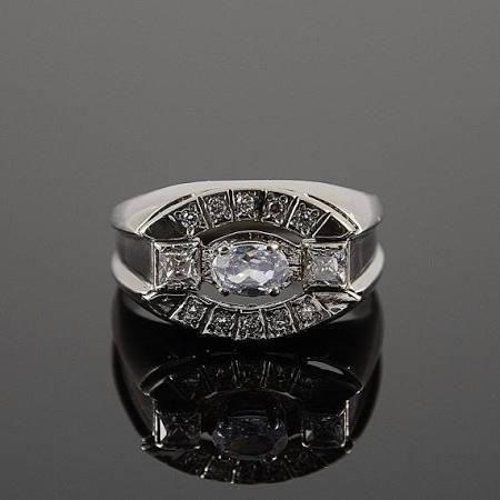 Men silver ring, Signet ring, Silver signet ring, Men silver band, Gypsy ring silver, Men gypsy ring, Stone men ring, Art deco ring men - Brought to you by Avarsha.com