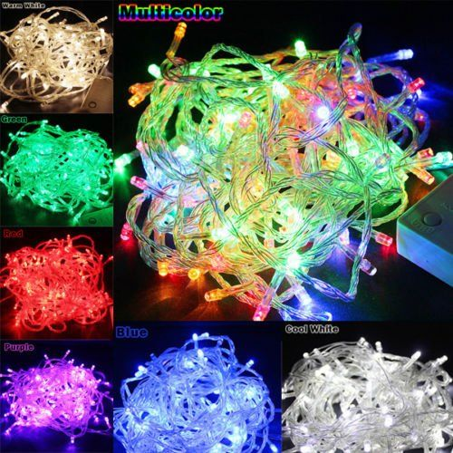 Details about 10M-50M LED Christmas Light Wedding Party Holiday