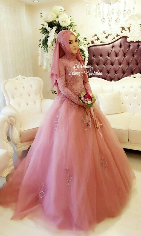 Pin de Ika Nurhayati en Muslim Wedding Dress Ideas | Pinterest ...