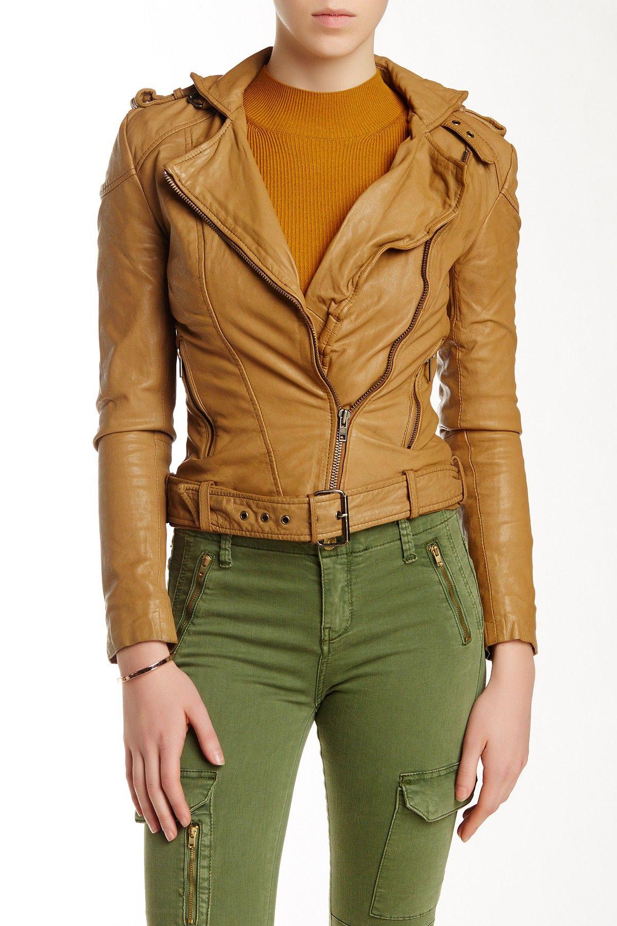 Leather jacket nordstrom rack - Muubaa Asha Leather Bomber Jacket At Nordstrom Rack Free Shipping On Orders Over 100