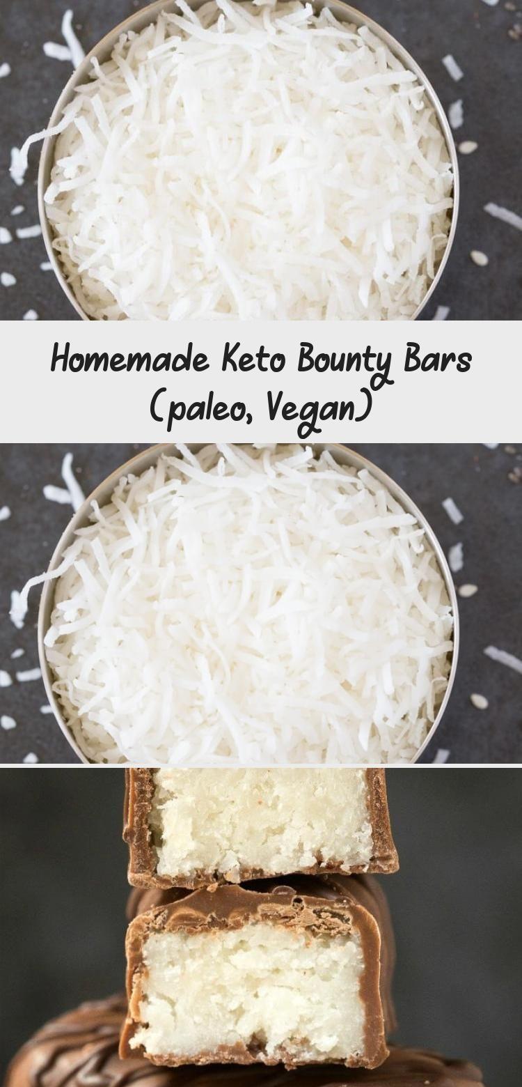 Keto Bounty Bars #health #fitness #nutrition #keto #diet #recipe #HealthDessertsFruit #HealthDessert...