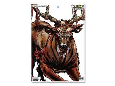 zombie deer target | Birchwood Casey Zombie Deer Darkotic Blood Trail Splattering Target ...