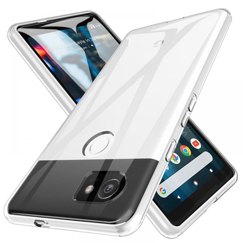 Shockproof Full Protection Phone Case For Google Pixel 2 3 3a 4 XL Crystal Soft Silicon Coque for G