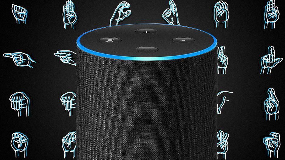 This clever app lets Amazon Alexa read sign language