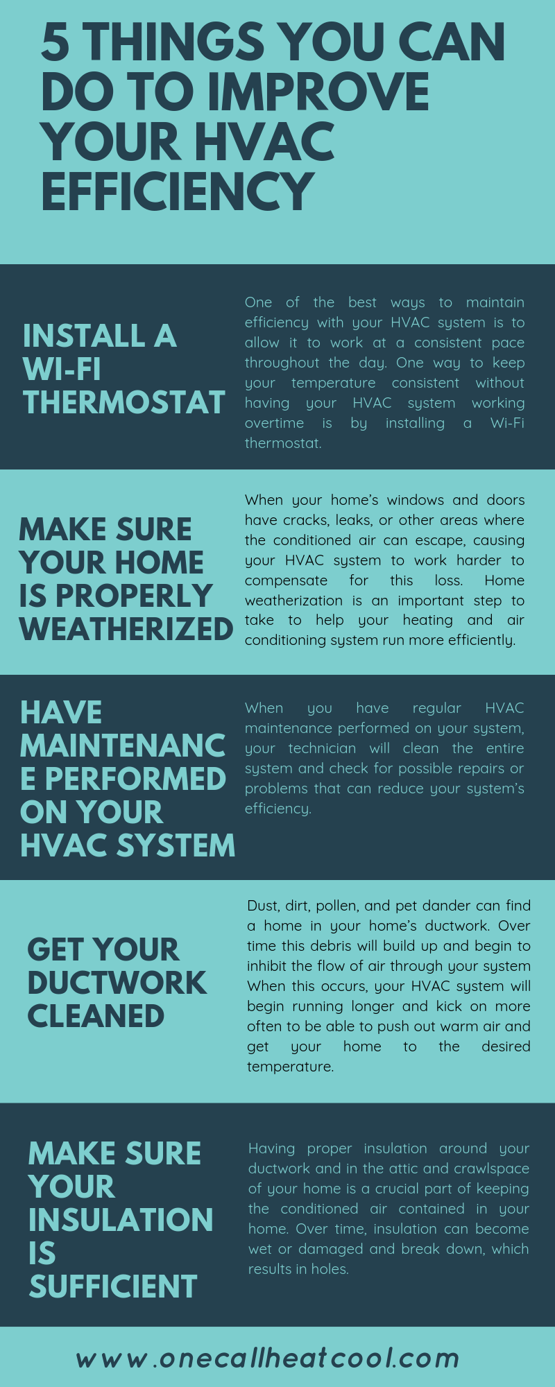 Pin By One Call Heating And Cooling On Hvac Hvac Efficiency Improve Yourself Improve