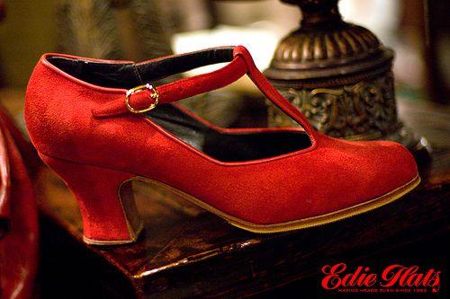 Sandalia Cerrada Flamenco Shoe, via Flickr.