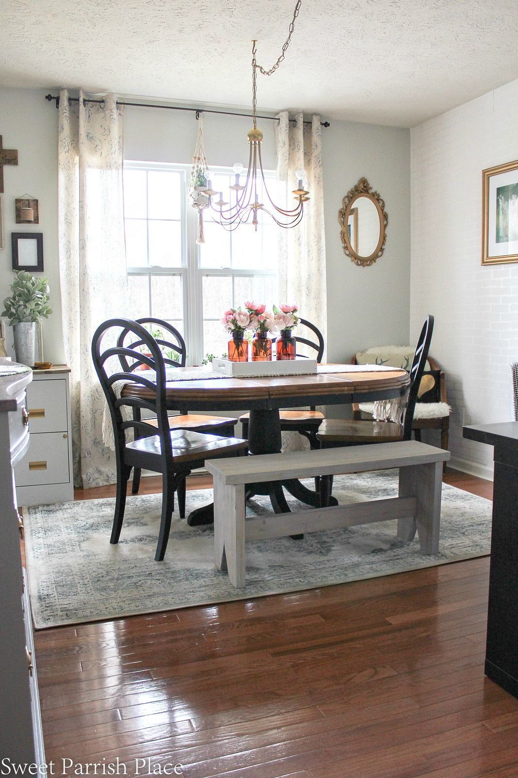 Modern Farmhouse Dining Roomoffice Reveal  $100 Room Challenge Pleasing Funky Dining Room Inspiration