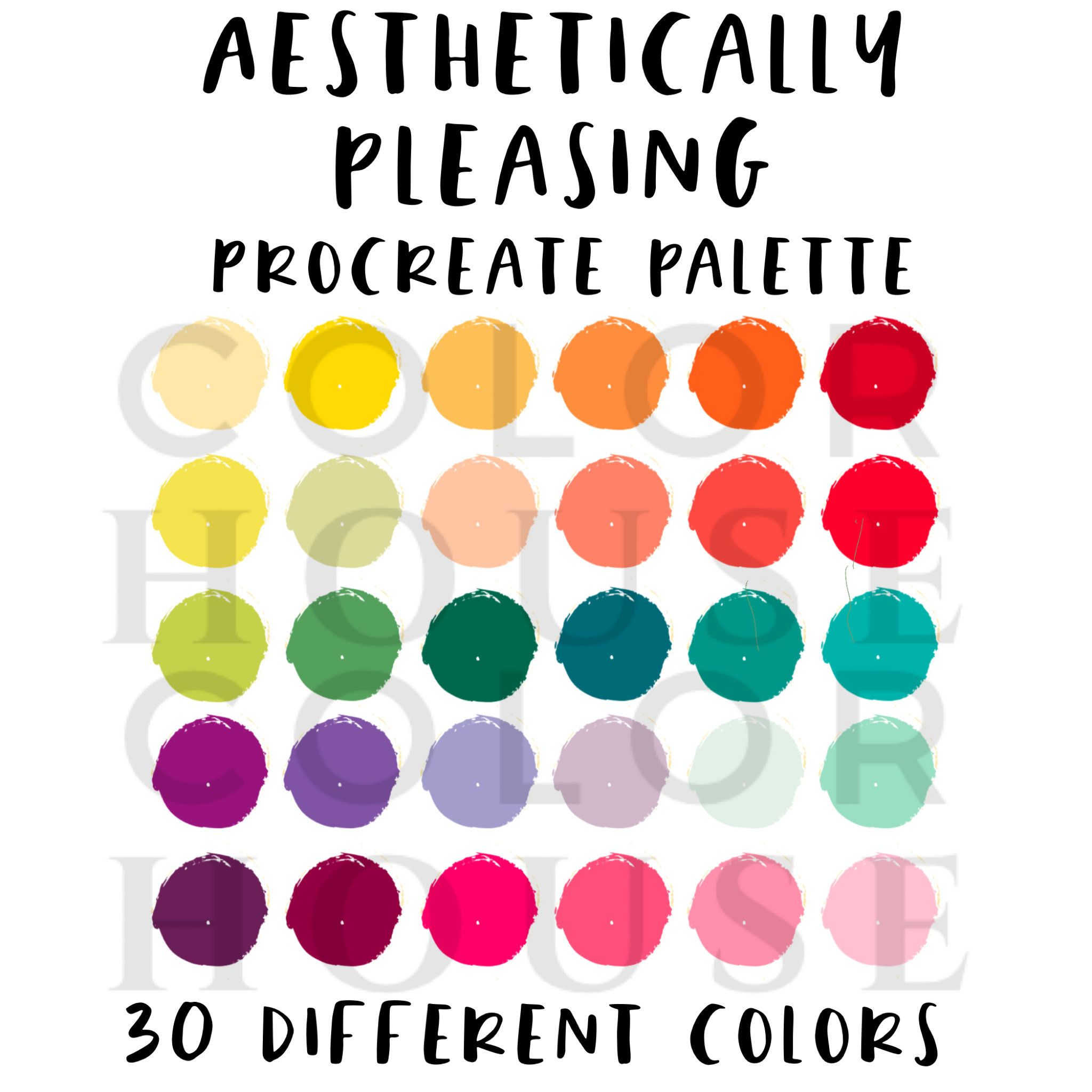 Aesthetic Color Palette Names