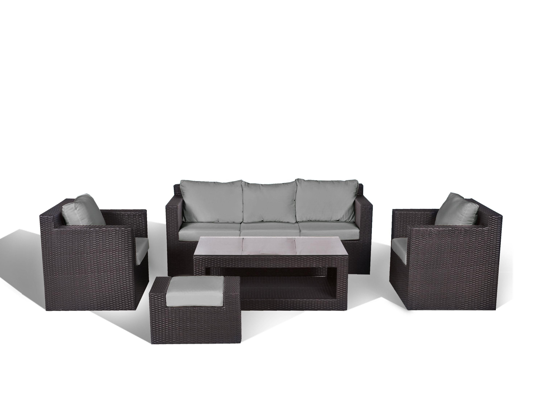 Rattanlounge   Gartenmöbel   Lounge 14 Teile   Rattanmöbel Polyrattan   ROMA
