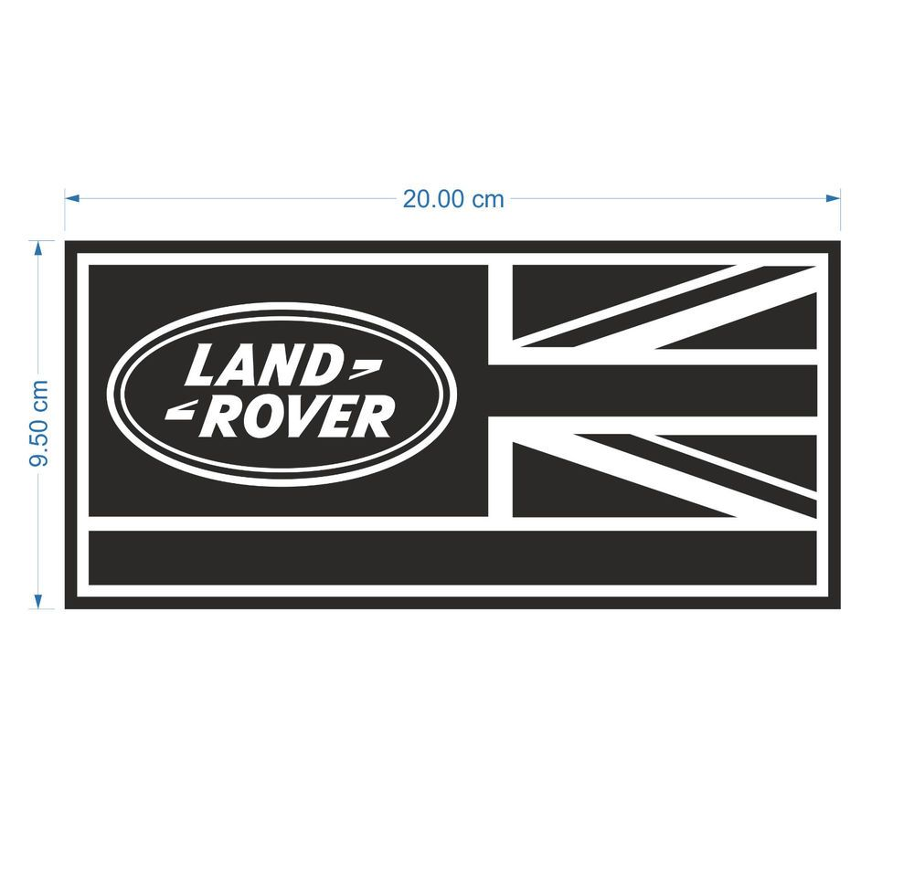 Details about LAND ROVER DEFENDER 90/110/130 Aftermarket DECAL Wing