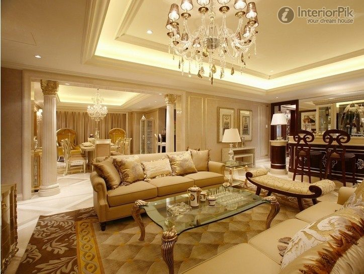 Latest European Style Living Room Decorating Pictures - http://www ...