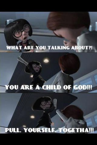 Edna Mode crossover with...reality