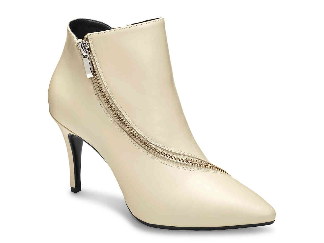 Aerosoles Deadline Bootie Aerosoles Leather Ankle Boots Stiletto Heels