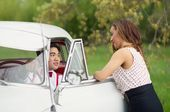 classic car styled photo shoot –