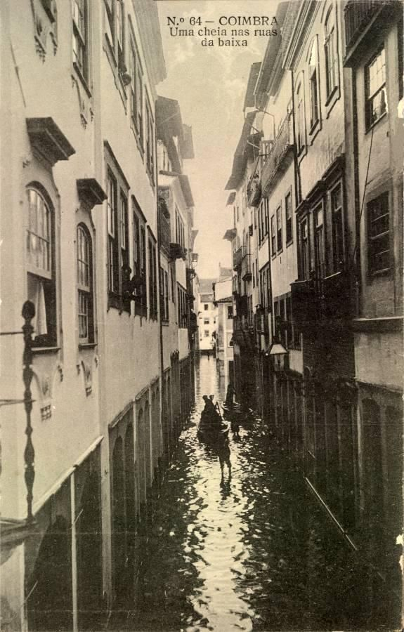 Cheia Baixa Coimbra Coimbra Fotos Antigas Fotos