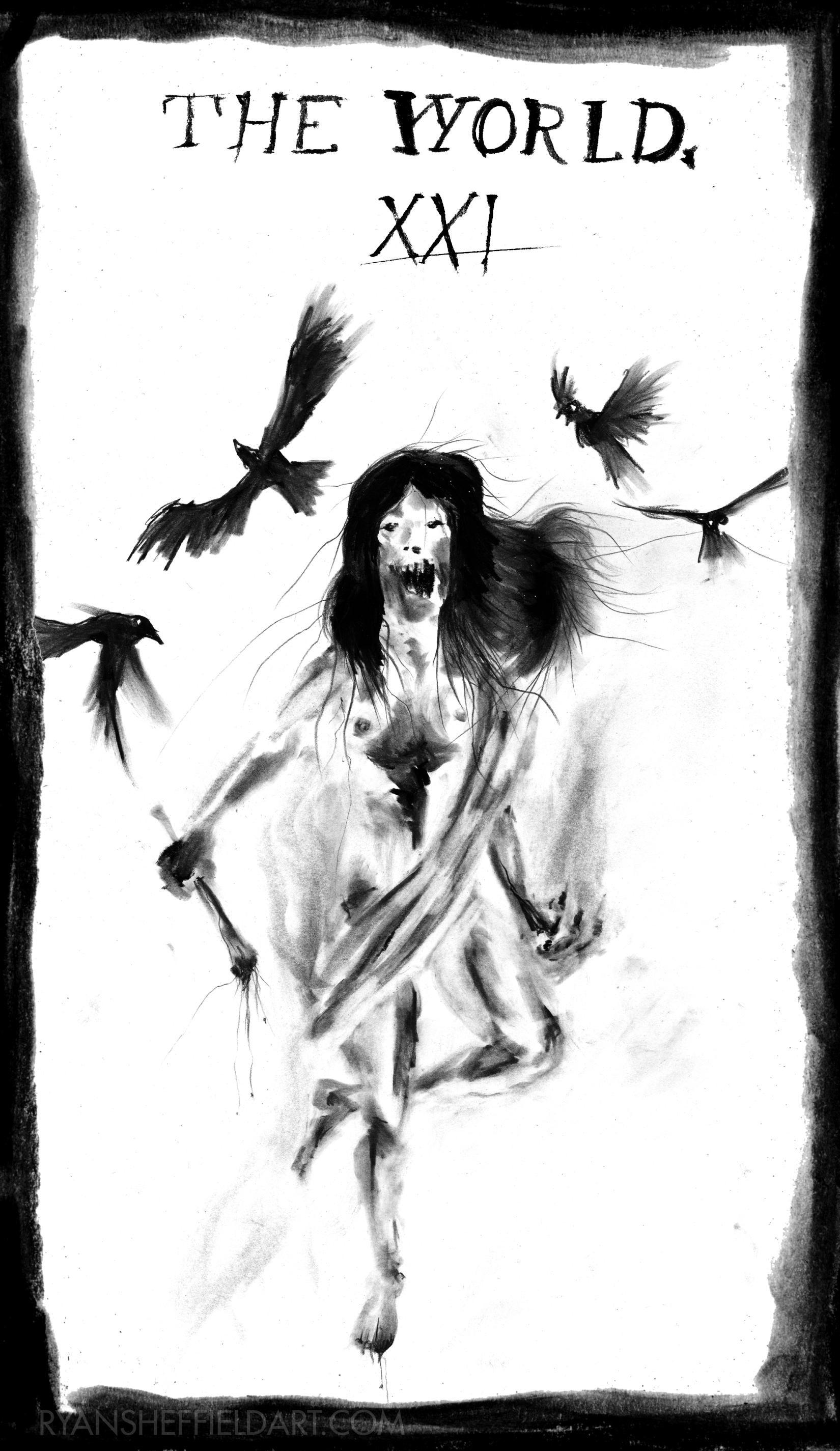 Ritual Abuse Tarot by Ryan Sheffield - Imgur