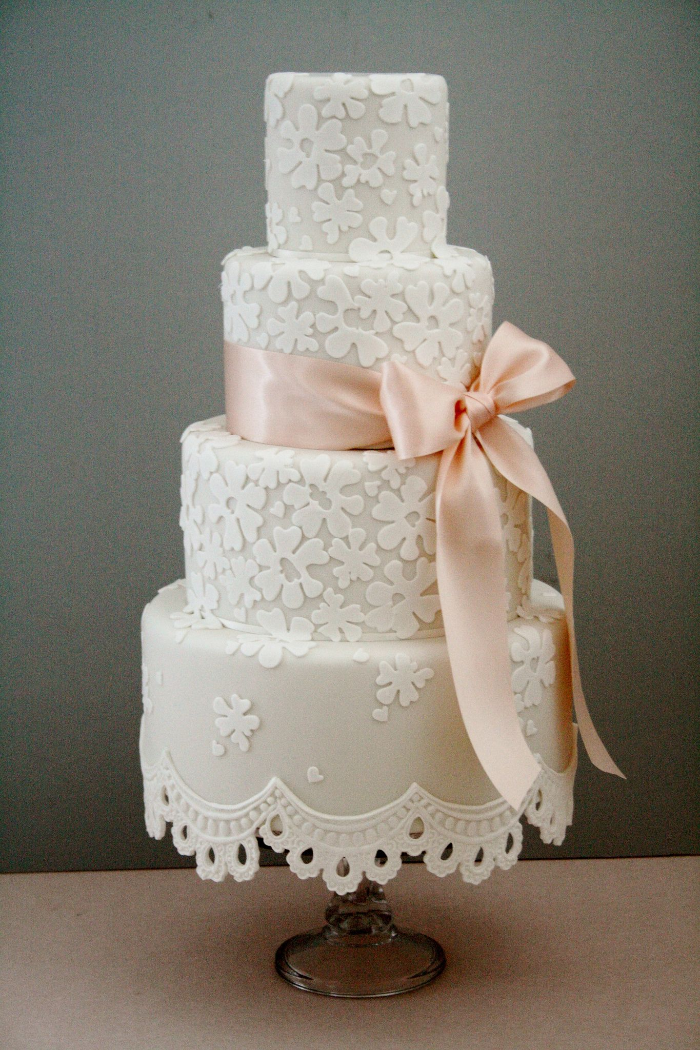white and peach wedding cakes lace fringe wedding cake white wedding cakes wedding 27215