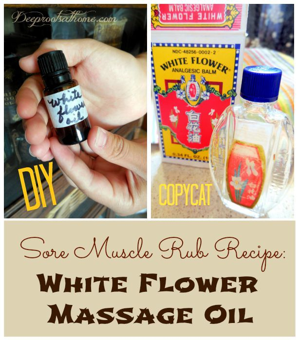 White flower oil recipe traditional chinese deep muscle rub white flower oil is created by combining a number of oils similar to my thieves mightylinksfo