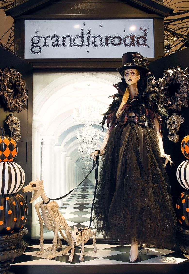 grandin road halloween haven catalog