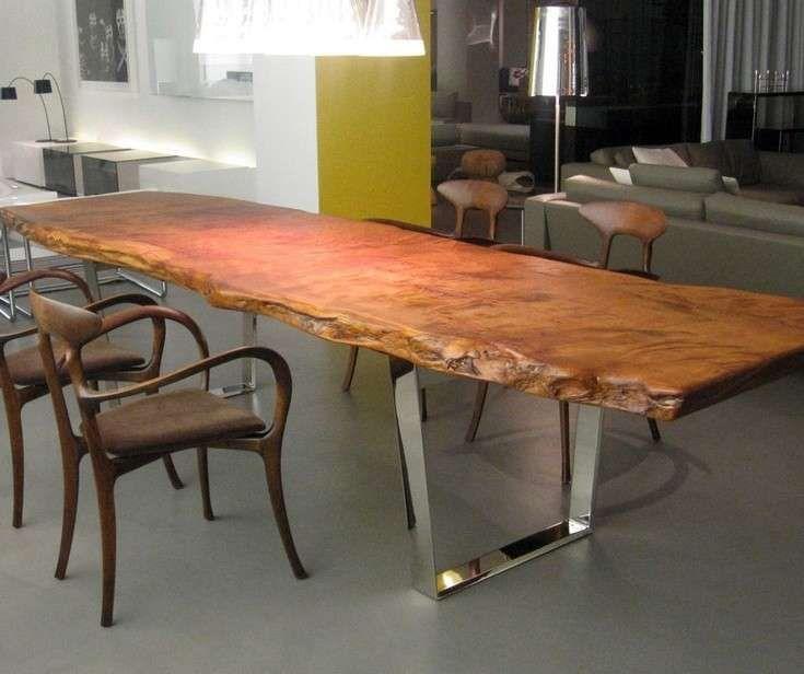 Tavoli in legno grezzo tavolo mesas de madera mesas for Tavoli in legno grezzo