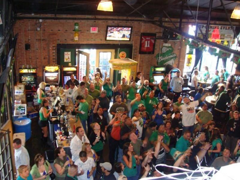 Known for its annual St. Patrick's Day celebration, EaDo's