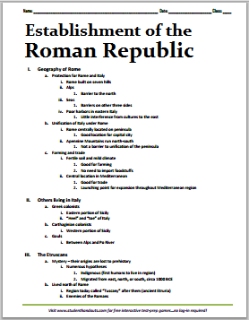 roman republic essay