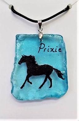 Horse Silhouette with Name