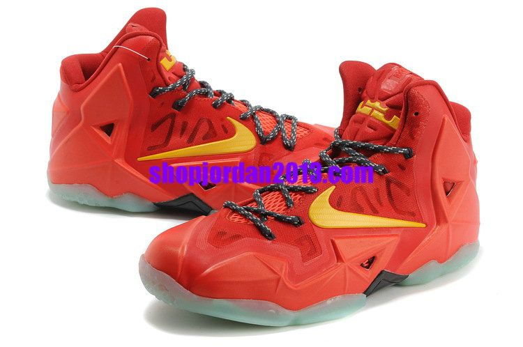 super popular 46bbe 79d0a Nike LeBron 11 Team Orange Tour Yellow Lebron James Shoes 2013  Orange   Womens  Sneakers