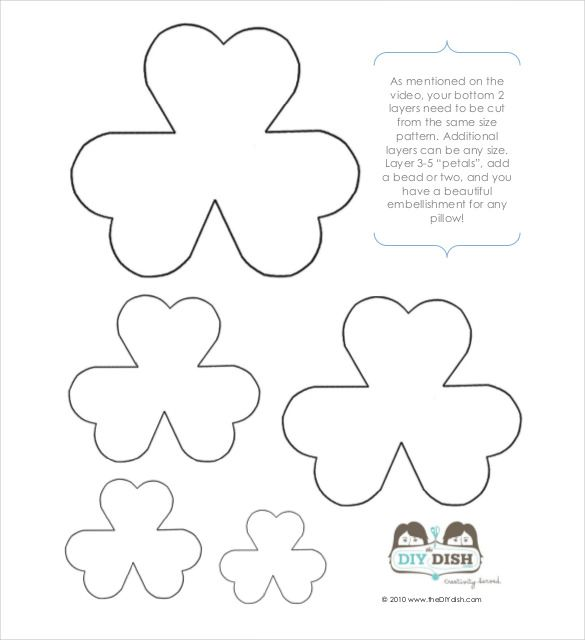 Flower Petal Template – 27+ Free Word, Pdf Documents Download