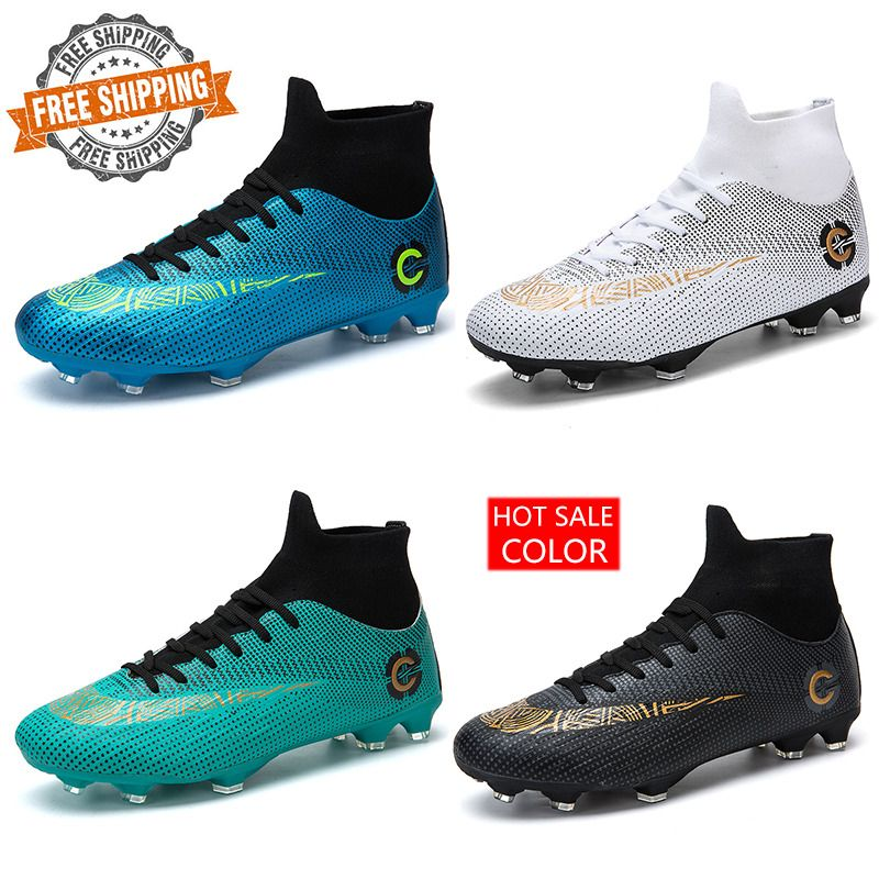 Men/'s Soccer Shoes Football Sneakers Soccer Cleats Fashion Outdoor Trainer Boots