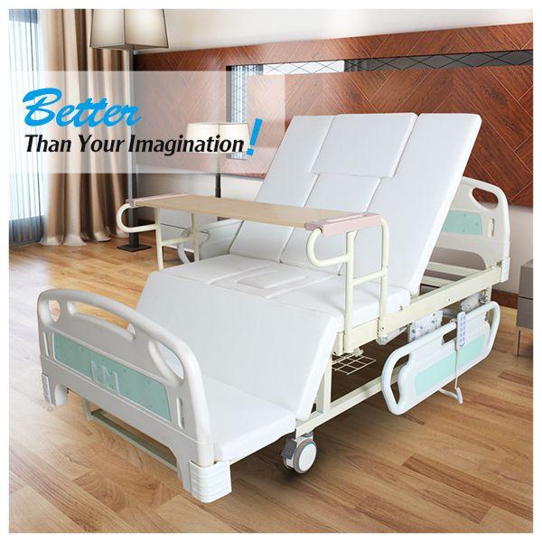 Trade Assurance Electric Adjustable Hospital Nursing Home Care Bed