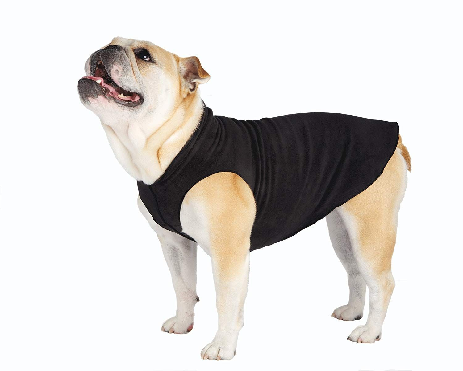 Gold Paw Series Gold Paw Fleece Size 8 Black To View Further For This Item Visit The Image Link This Is An Affili Dog Coats Fleece Dog Coat Pet Sweater