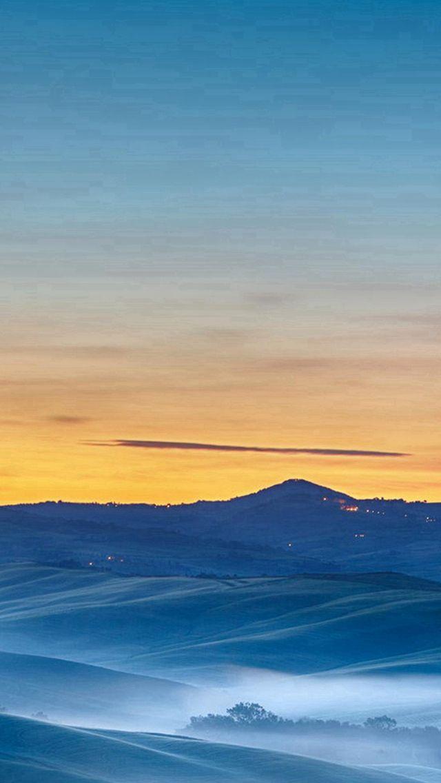 Prairie Night Sunset Mountain Landscape Iphone Wallpapers Mountain Landscape Iphone 5s Wallpaper