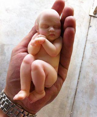 Amazing baby tutorial for this piece. - ist zwar polymer lässt sich aber sicher auch aus zucker formen ... tolles Turtorial