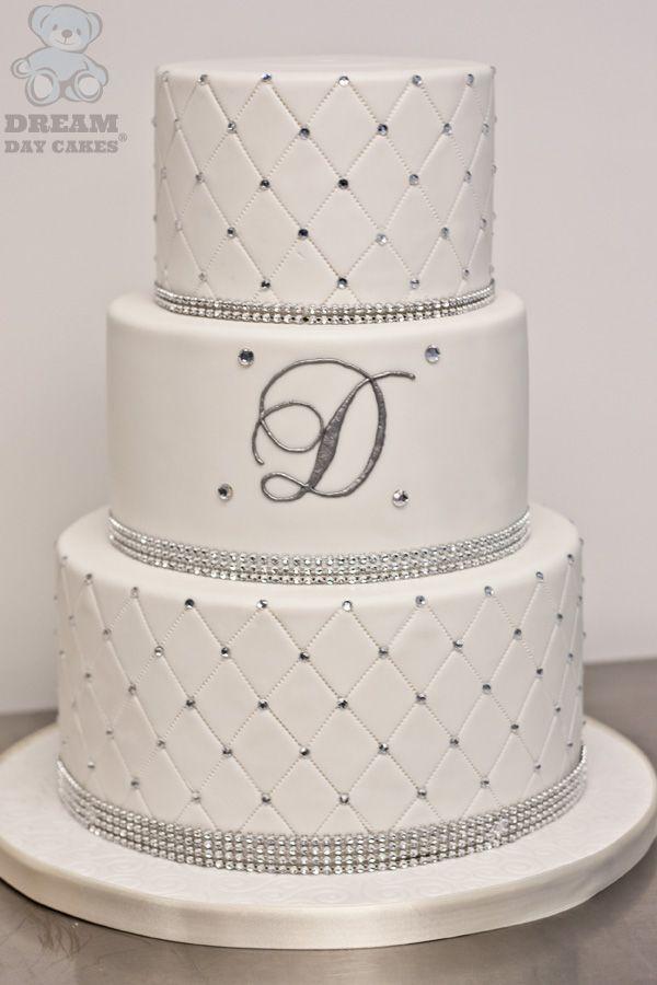 Diamond Design On Buttercream Cake
