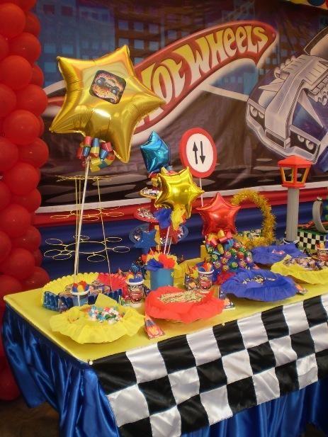 Decoraciones de fiestas infantiles hot whells sra - Decoracion fiesta infantil ...