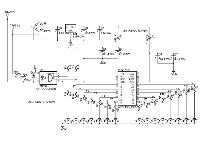 SMA10 Build a 17Function DCC Decoder for about 5
