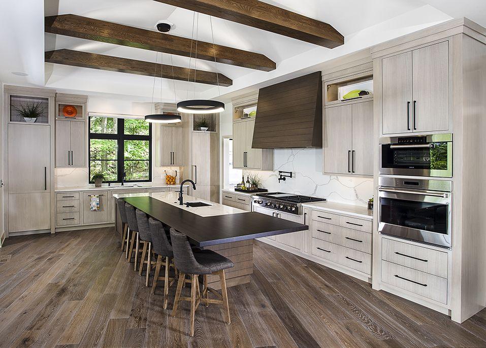 A Modern Prairiestyle Home In Grand Rapids Michigan Won A Gold Fascinating Award Winning Kitchen Design Style