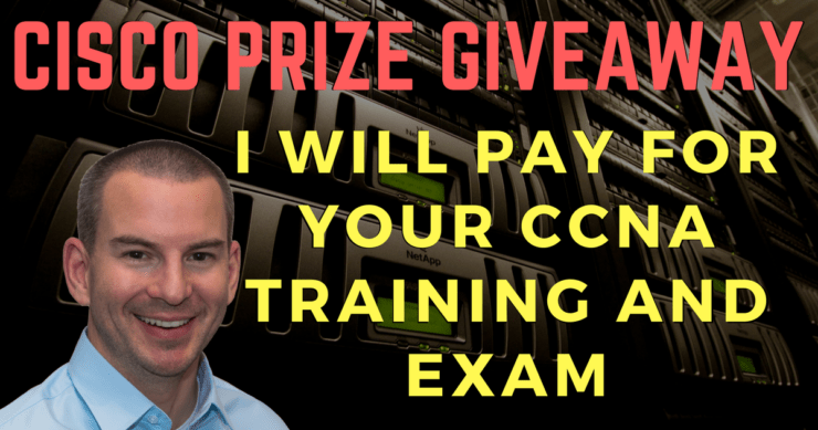 Cisco CCNA Bootcamp, Test Prep and Exam Payment GIVEAWAY