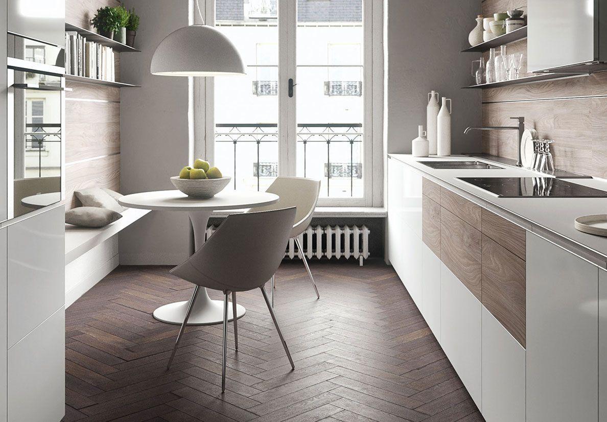 Forma Mentis With Glass Door And Melamine Wood Finish Door Cucina Cucine Forma Mentis Metri Moderna Lineare Valcucine Piccola Moderne Lineari Ar In 2020 Intelligente