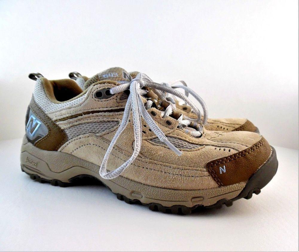 b66cf4f8 New Balance Women's 643 Brown Tan Hiking Trail Shoes WW643TB Abzorb ...