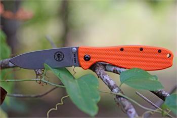 Got it! ESEE Zancudo Folder, Orange Handle, Knifeworks Exclusive