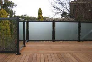 Best Frosted Glass Glass Balcony Glass Porch Balcony 400 x 300